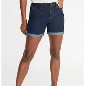 Old Navy Mid-Rise Denim Shorts, 5 inch inseam
